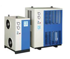 Secador de ar comprimido por refrigeração de alta temperatura série ADH com trocador de calor de tubo e casco